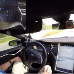 テスラモーターズの自動運転検証動画が危険すぎる!! 48Kmも自動で運転!?